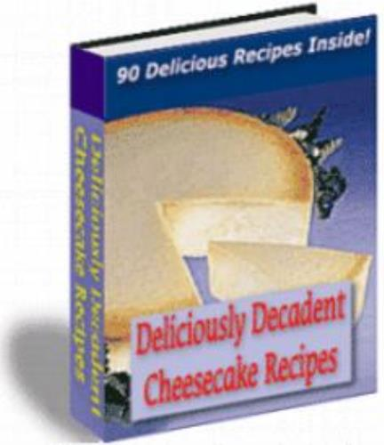 Ultimate CHEESECAKE Recipe Collection Cookbook EBook | eBooks | Food and Cooking