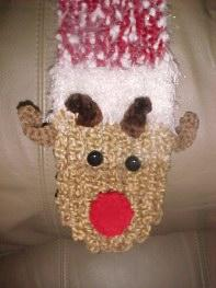 Rudolph Scarf Pattern | eBooks | Arts and Crafts
