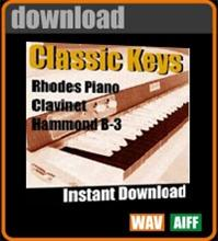 Apple Loops - Classic Keyboards for Garageband | Music | Soundbanks