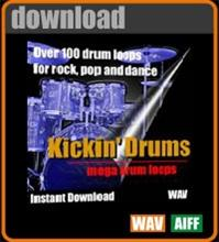 Kickin Drums Apple Loops for Garageband | Music | Soundbanks