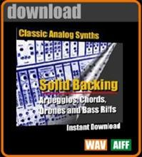 Apple Loops - Classic Synths - Solid Backing | Music | Soundbanks