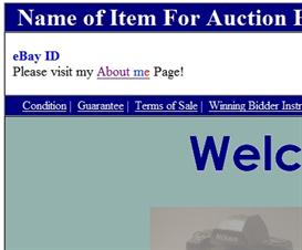 Custom eBay Auction Template  PL0181223 | Other Files | Patterns and Templates