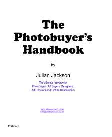 photobuyer's handbook us