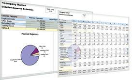 Easy Detailed Expense Estimate with Excel | Software | Software Templates