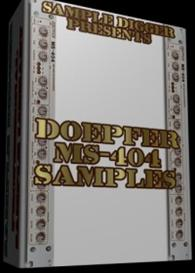 Doepfer Ms 404  - 124 Wav Samples | Software | Audio and Video