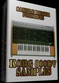 Korg 800dv   -  330 Wav Samples | Music | Electronica
