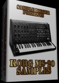 Korg Ms-20  -  416 Wav Samples | Music | Soundbanks