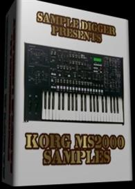 Korg Ms2000   -  262 Wav Samples | Software | Audio and Video