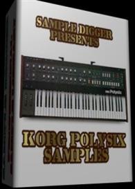 Korg Polysix   -  221 Wav Samples | Music | Soundbanks