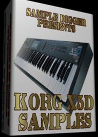 Korg X5d   -  322 Wav Samples | Music | Electronica