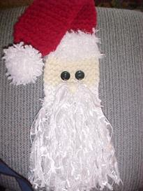 Santa Scarf Knifty Knitter Version | eBooks | Arts and Crafts