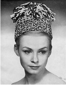 5 fantastic 1960s hats to knit and crochet vintage pattern