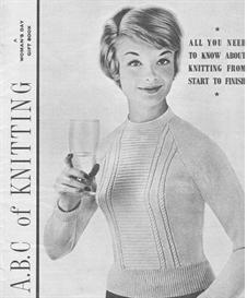 ABC of knitting 1958 vintage knitting pattern and instructions booklet | eBooks | Arts and Crafts