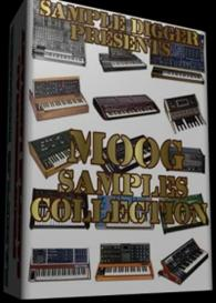 Moog Sample Collection  -  737 Wav Samples  - Memorymoog - Mini Moog - | Software | Audio and Video
