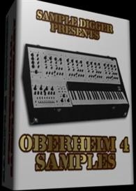 Oberheim 4   -  118 Wav Samples | Music | Electronica