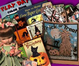 Make  Halloween FUN Stuff for your Ginny Betsy McCall Riley or ANY 7-9 | eBooks | Arts and Crafts