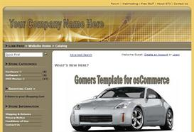 Gomers Template for osCommerce | Software | Add-Ons and Plug-ins