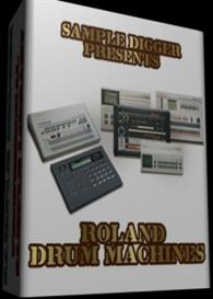 Roland Drum Machines  - 1599 Wav Samples  - Tr808 - Tr909 - Tr707 - Tr | Software | Audio and Video