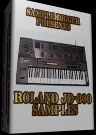 Roland Jd 800  -  1401 Wav Samples | Music | Electronica
