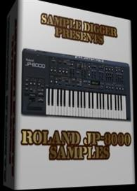 Roland Jp 8000  - 411 Wav Samples | Music | Electronica