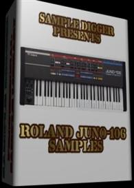 Roland Juno-106  -  300 Wav Samples   Music   Electronica