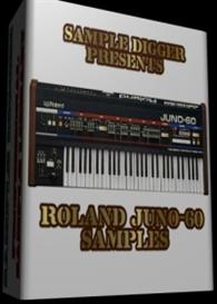 Roland Juno-60  -  390 Wav Samples | Software | Audio and Video