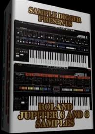 Roland Jupiter 6 & 8   -   322 Wav Samples | Software | Audio and Video