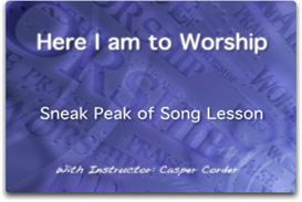 Here I am to worship lesson | Movies and Videos | Music Video