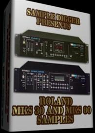 Roland Mks 30 & Mks 80    -    628 Wav Samples | Software | Audio and Video