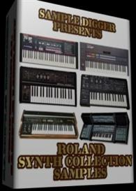 roland synth collection  -  587 wav samples  - jx 3p - jx 8p - sh-1 -