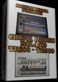 Roland Tr808 & Tr909 Crunk Drums | Software | Audio and Video