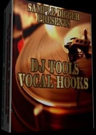 Vocal Hooks - Dj Tools - Vocal Shouts - Scratch Fx  - 330 Wav Samples | Software | Audio and Video