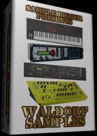 Waldorf Sample Collection  -  744  Wav Samples | Music | Electronica