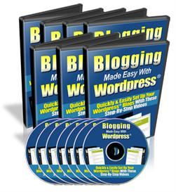 Blogging Made Easy With WordPress Video Tutorial | Audio Books | Food and Cooking