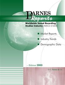 2008 Worldwide Sound Recording Studios Industry Report | eBooks | Business and Money