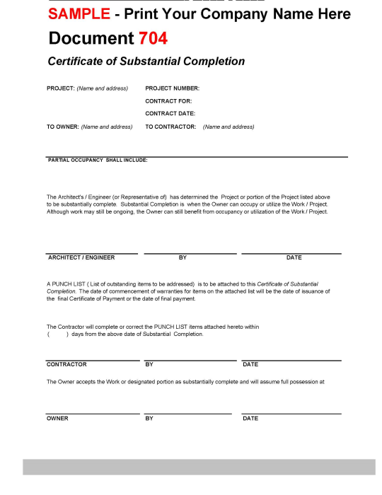 First Additional product image for - Contract and Form Templates for Construction
