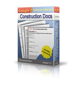Contract and Form Templates for Construction | Software | Software Templates