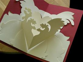 12 Gifts -French Hens-EasyCutPopup | eBooks | Arts and Crafts