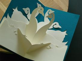 12 Gifts -Geese-EasyCutPopup | eBooks | Arts and Crafts