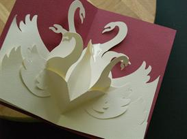 12 Gifts -Swans-EasyCutPopup | eBooks | Arts and Crafts
