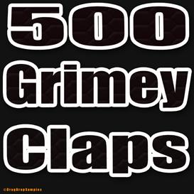500 hip hop claps clap drum sample fl studio cubase logic ableton live maschine