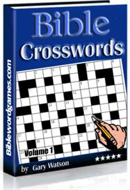 bible crossword puzzles vol.1