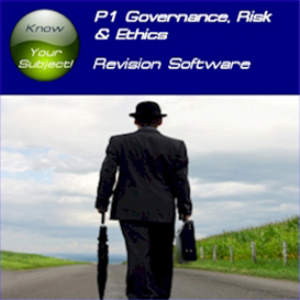 acca p1 governance, risk & ethics revision software sti