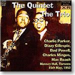 the quintet, the trio, massey hall may 1953,  ambient stereo flac