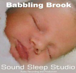 sound sleep baby babbling brook 60 minutes