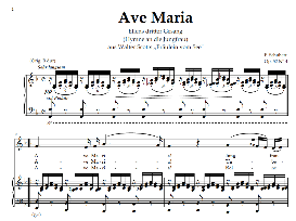 Ave Maria in F Schubert Germ digi | eBooks | Sheet Music