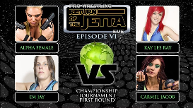 kay lee ray vs carmel jacob vs alpha female vs em jay