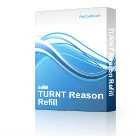 turnt reason refill