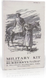 burberry's military kit catalogue. (c.1905)