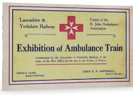 exhibition of ambulance train. (c.1916)